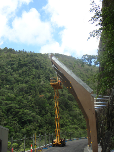 Barron Gorge Rockfall Protection Structure, Cairns