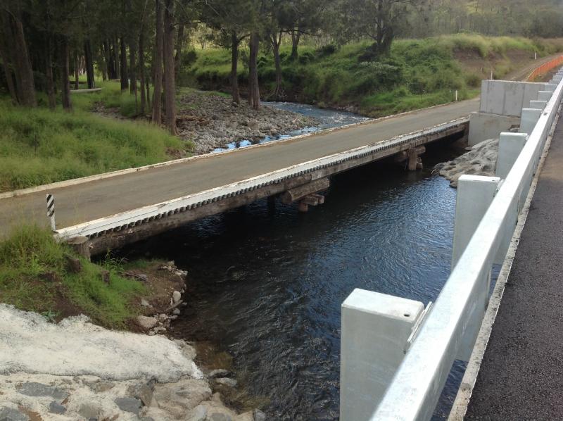 Pile Bridge, Christmas Creek Road, Lamington