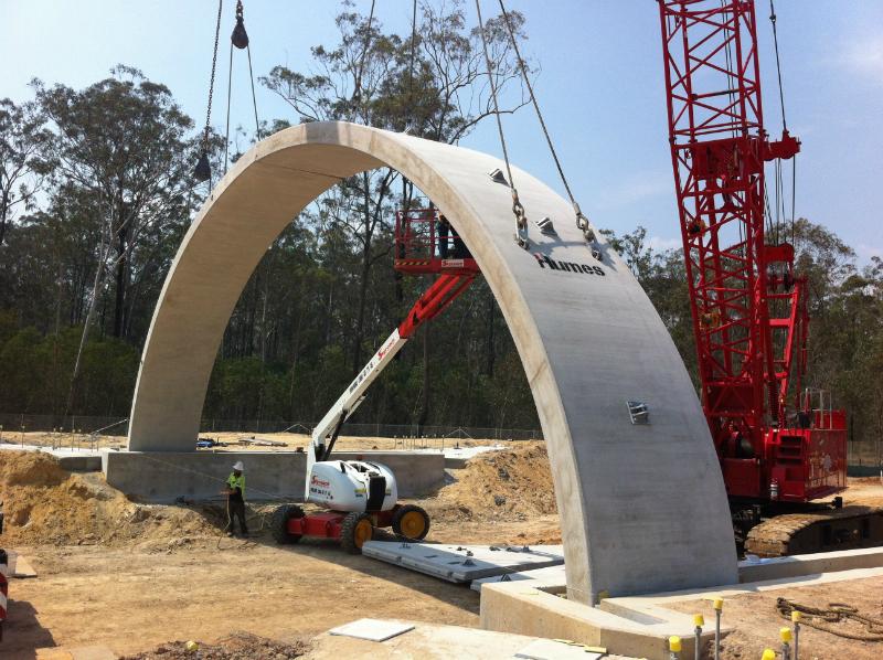 Design and Construction of Bebo Arch Bridge, Greenbank