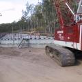 Construction of two bridges on Esk – Hampton Road