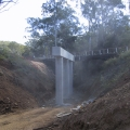 Construction of two bridges on Esk – Hampton Road