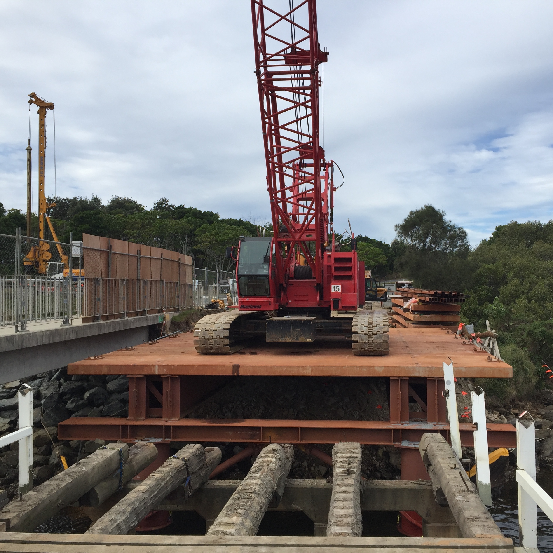 Concrete Superstructure: Davbridge Constructions