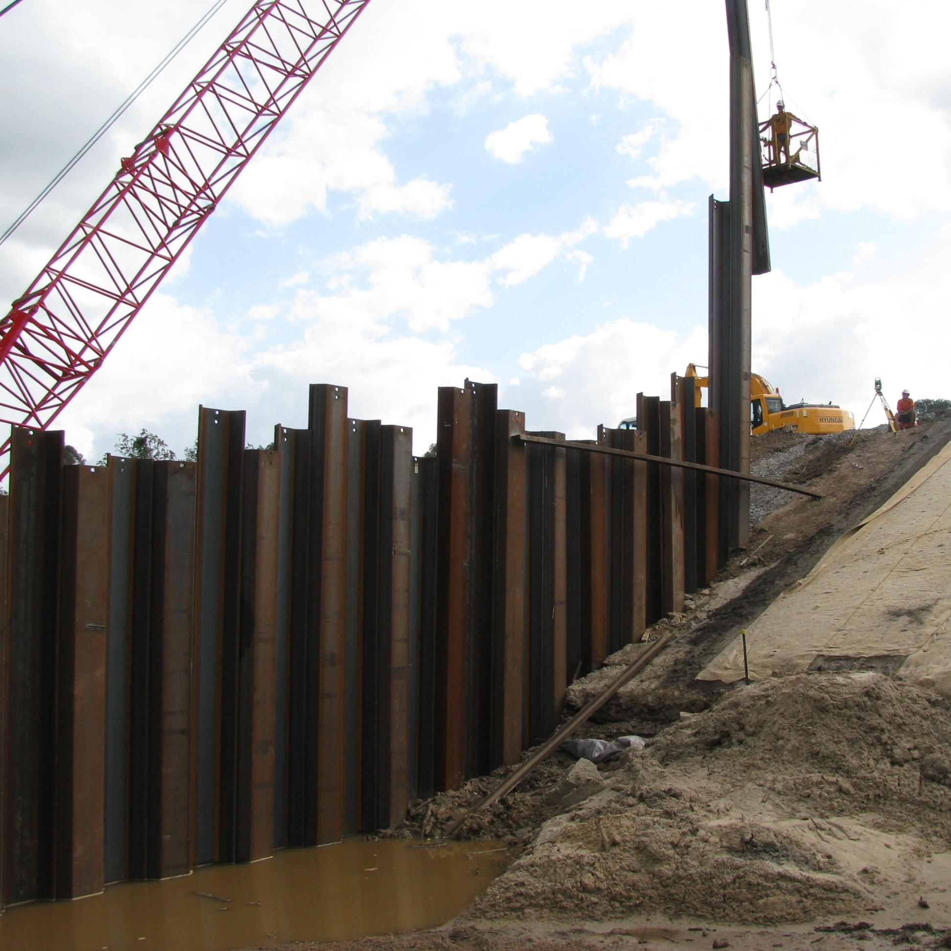 Pile It On : Piling davbridge constructions